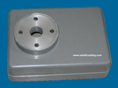 aluminum sand casting machinery series:aluminum sand cast housing .