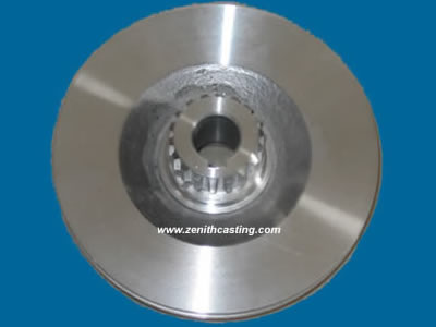 aluminum sand casting machinery series:aluminum sand cast pulley .